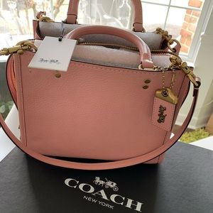 Coach Rogue bag (chalk/brass)